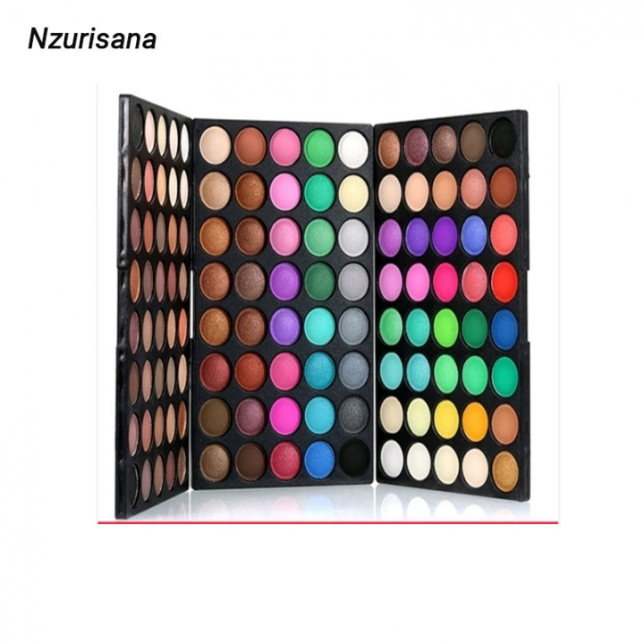Professional Eyeshadow Palette 120 Colors Eyeshadow Natural Super Light Makeup  Pallete Set Colorful