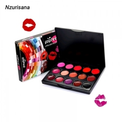 2020 NEW 15 Colors Lipstick Palette Professional Makeup Tools as the picture