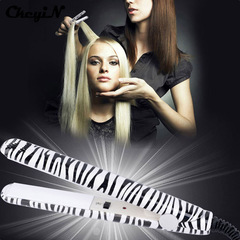 Valentine's Gift Hair Straightener Iron Straightening Corrugate Curling Iron Styling Tools UK Plug as the picture
