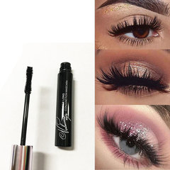 Fiber Lash Mascara Waterproof Mascara Eyelash Extension Black Thick Lengthening Eye Lashes Cosmetics as picture