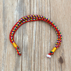 Women Simple Colorful Rope Bracelet Jewelry Colorful Rope Bracelet as picture normal