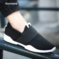Trendy Men Casual Fashion Summer Autumn Air Mesh Travels Striding Walking Shoes Black 40