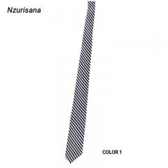 Mens Ties New Man Fashion Neckties Slim Stripes Tie Business Tie for Men COLOR 1 Normal