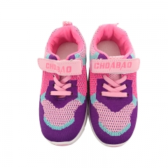 Autumn Children Canvas Shoes Girls and Boys Sport Shoes Antislip Soft Bottom Breathable Sneakers purple 28