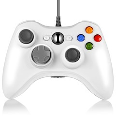 X - 360 Multipurpose Wired Controller for Multiple Platforms WHITE