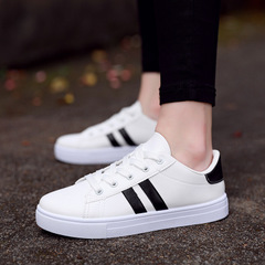 Women's Casual Sports White Shoes Fashion Women's Shoes black 35