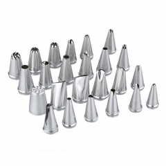 Cookie  Tools  Cake  Decorating Kitchen Set--5 pcs  Silver One Size silver normal