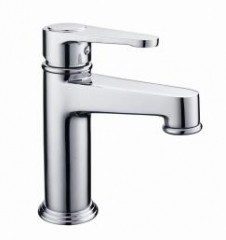 Bathroom Sink Faucet Bathroom Faucet Chrome Water Mixer Water Tap Brass Basin Faucet Mixer silver normal