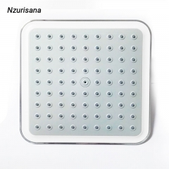 Rainfall Pressure Shower Head Water Saving Ceiling Mounted Square Overhead Shower Head silver normal