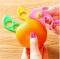 Orange Peelers Zesters Opener practical Lemon Fruit Slicer Fruit Stripper Opener Cooking Tools Pink RANDOM normal