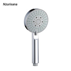 [Shower Head]Hand-held Shower Head Five Modes can be Changed silver normal