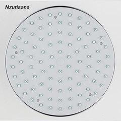Round Shower Head Rainfall Shower Head Rain Shower Chrome High Pressure Bath Faucet silver normal