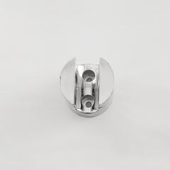 [Holder Clamp]Bathroom Accessories Plastic Shower Slide Rail Bar Holder Clamp Holder Bracket silver normal