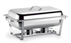 Stainless Steel Buffet Heater Chafing Dish Hotpot Holder 9L Catering Banquet Cooking Pan Server silver 68*39*42cm