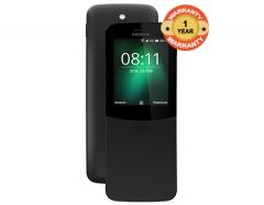 8110 Dual Sim, 4G, Slider Phone Traditional Black