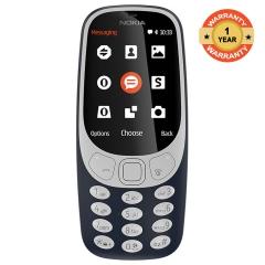 "3310 - 2.4"" - 16MB RAM - 2MP Camera - Dual SIM Dark Blue"