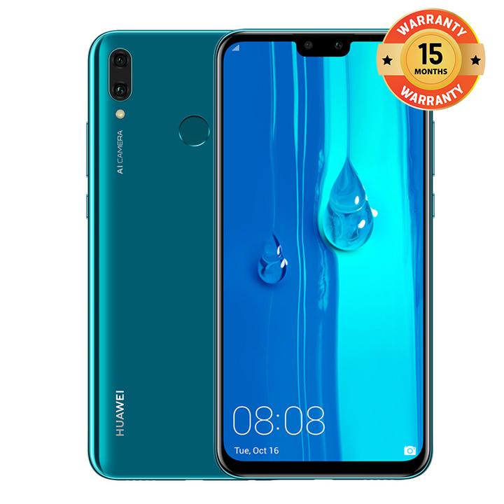 "Huawei Y9 (2019) - 6.5"" - 64GB - 4GB RAM - 16MP+2MP Dual Camera, 4G (Dual SIM) Sapphire Blue"