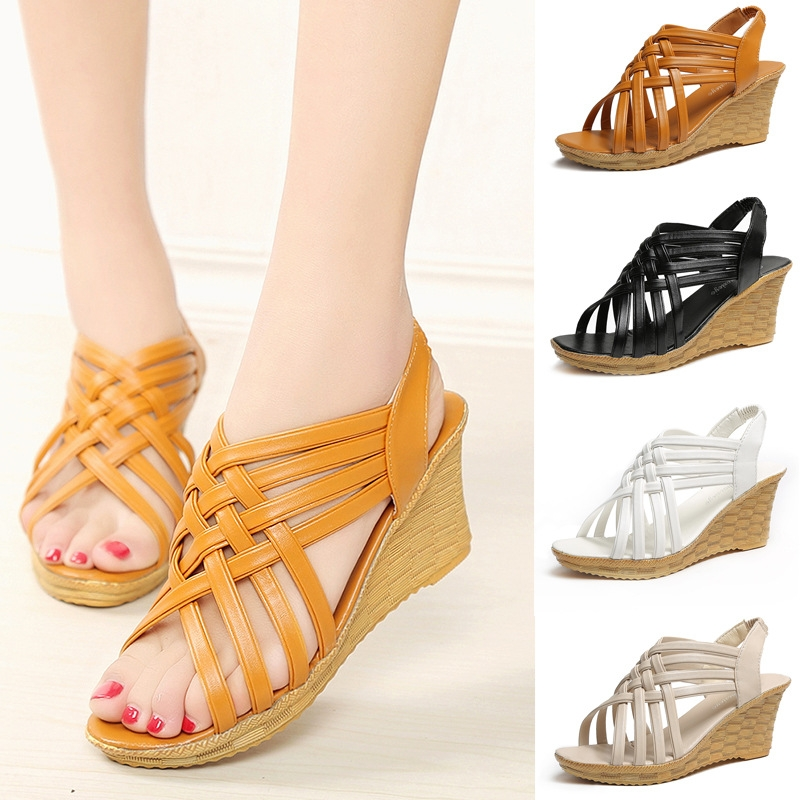 795644d6d86cf4 Cuculus ladies slippers high heels wedges sandals shoes women ...