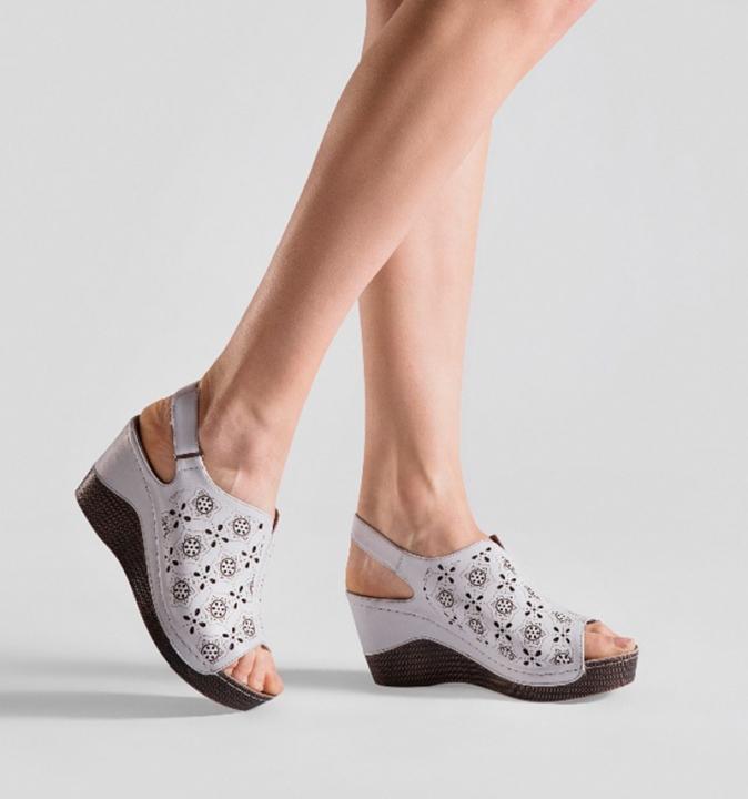 d5fef42ca82c New Summer Wedge Heels Women Sandals Open Toe Fish Head Platform Shoes High Heels  white 39