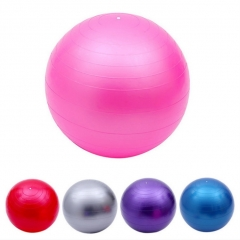 Health Fitness Yoga Ball 5 Color Utility Anti-slip Pilates Balance Yoga Balls Sport Fitball Proof Pink 65cm