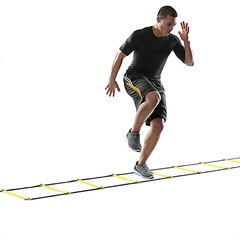 Agility Ladder Soccer Training Equipment  Athletics Football Ladder Rope-ladder