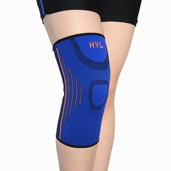1Set Sport Safety Kneepad Volleyball Knee Pads Training Elastic Knee Support Knee Protect Blue Average