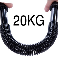 Spring Arm Strength Hand Gripper Arm Power Blaster Fitness Equipment Gym 20Kg As picture