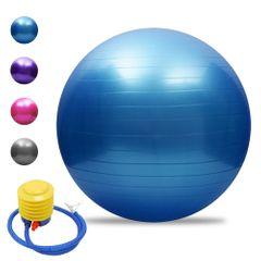 65cm Health Fitness Yoga Ball Utility Anti-slip Pilates Balance Yoga Balls Sport Fitball Proof Blue 65cm