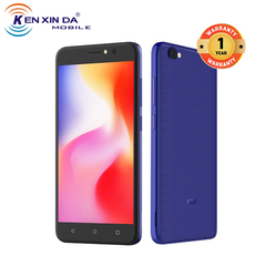 (+Free screen protector +Back cover) KXD W55, 5.5inch, 1+8GB, 2500mAh, 5MP rear camera, 3G blue