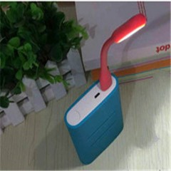 USB LED Light Enhanced Version 5V 1.2W Portable Energy-saving LED Lamp with Adjustable Arm Red PH235 99