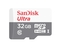 Sandisk 32GB Ultra Micro SD Card (SDHC) + Adapter - Class 10 grey/white sandisk 32gb with adapter
