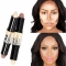 Makeup Creamy Double-ended Contour Stick Highlighter Bronzer Concealer Full Cover Blemish as picture