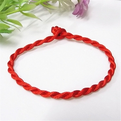 Hot Sale Fashion Red String Bracelet Lucky Red Rope for Women Men Jewelry Lover Couple random style as pic
