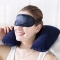 HOT SALE 3pcs Set Inflatable Travel Pillow Neck Head Rest Air Cushion  Office pillow random