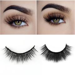 DISCOUNT 5 Pairs 3D  Natural Eyelashes Makeup Fake Eye Lashes Extension Make Up Beauty Tools black
