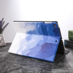 iPad Mini 2 Lightweight Folio with Auto Wake/Sleep Smart Stand Magnetic PU Leather Hard Case Cover Blue ipad mini 1/2/3