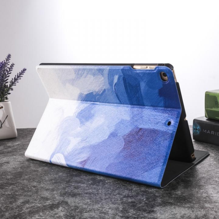 iPad Mini 2 Lightweight Folio with Auto Wake/Sleep Smart Stand Magnetic PU Leather Hard Case Cover Blue ipad mini 1/2/3