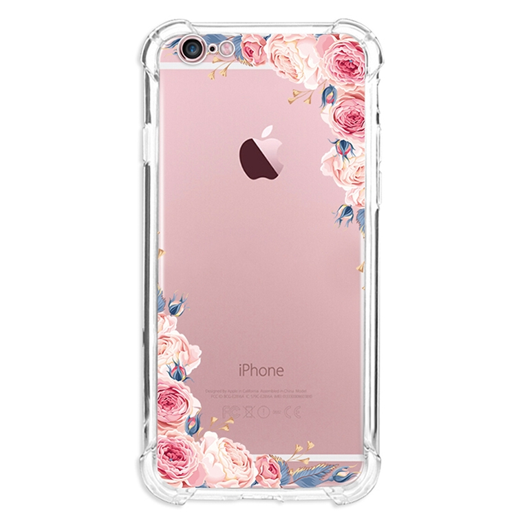 Iphone 6 6s Caseiphone 6 Plus Case Soft Tpu Flower Clear Design