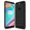 Oneplus 5T Smartphone Case Rugged Armor Carbon Fiber Soft TPU Shockproof Protective Case Black for Oneplus 5T 5.5''