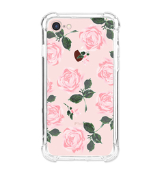 Apple iPhone 7 Case Flower Soft TPU Shock Transparent Clear Protective Phone Case Cover colour1 for Apple iPhone 7
