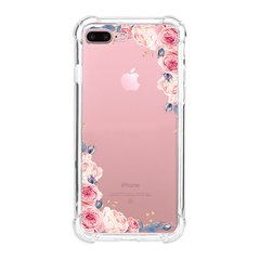 Shinwo Apple iPhone 7 Plus Case Flower Soft TPU Shock Transparent Clear Protective Phone Case Cover colour1 for Apple iPhone 7 Plus
