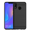 Shinwo Huawei Y9 2019 Smartphone Case Rugged Armor Carbon Fiber Soft TPU Shockproof Protective Case black for Huawei Y9 2019 Smartphone