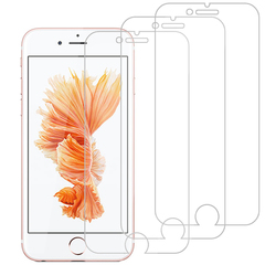 [3-Pack]-Shinwo For iPhone 6 6S [Bubble-Free] [9H Tempered Glass] Screen Protector Clear White for iPhone 6/iPhone 6S