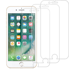 [3-Pack]-Shinwo For iPhone 8 Plus [Bubble-Free] [9H Tempered Glass] [Case Friendly] Screen Protector Clear White for iPhone 8 Plus