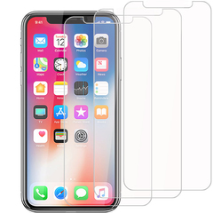 [3-Pack]-Shinwo For iPhone XR [Bubble-Free] [9H Tempered Glass] Screen Protector Clear White for Apple iPhone XR 6.1 Inch