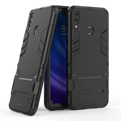 Ready Stock Huawei Y9 2019 (Enjoy 9 Plus) Phone Case Rugged Armor [Drop-protection] with Kickstand Black for Huawei Y9 2019 (Enjoy 9 Plus)