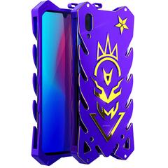 VIVO Y97/Y93 Case Metal Frame Full Body [Drop-Protection] Phone Case Purple for VIVO Y97/Y93