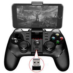 PG-9076 Bluetooth Wireless Controller + 2.4G Wireless Bluetooth Receiver Supports PS3 Game Console
