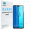 [2-Pack]-Shinwo Huawei Y9 2019 / Enjoy 9 Plus Smartphone [Tempered Glass] Screen Protector Clear White for Huawei Y9 2019 / Enjoy 9 Plus Smartphone