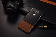 Shinwo LG G5 LG G6 LG G7 Smartphone Good Leather PC Material Mobile Phone Case Cover black for LG G5 Smartphone